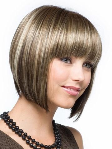 Short Capless Synthetic Beautiful Wigs