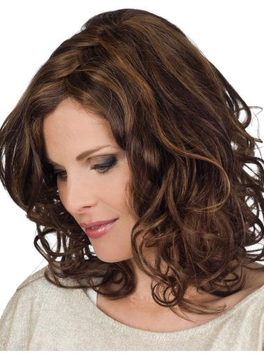 Shoulder Length Classy Human Hair Wigs