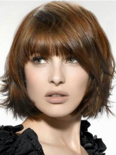 Short Capless Blonde Durable Synthetic Wigs
