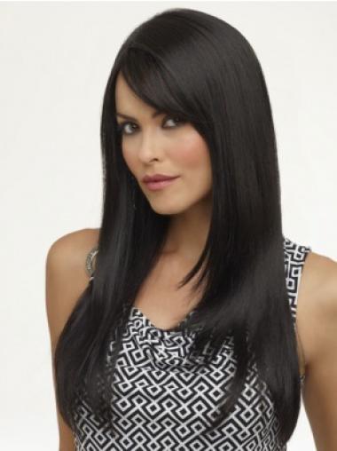 Long Capless Black Fabulous Synthetic Wigs