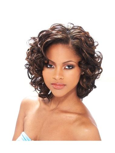 Curly Discount Human Hair Wigs