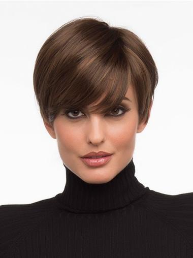 Cheap Straight Monofilament Wigs