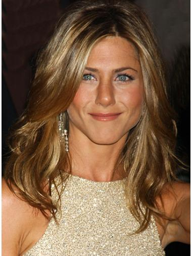 Capless Remy Human Hair Designed Jennifer Aniston Wigs