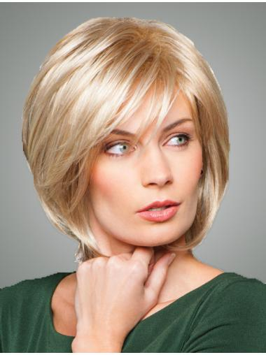 "Blonde Sleek 10"" Bob Wigs"
