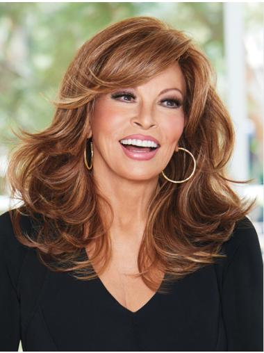 Wavy Monofilament Layered Cheap Wigs For Cancer