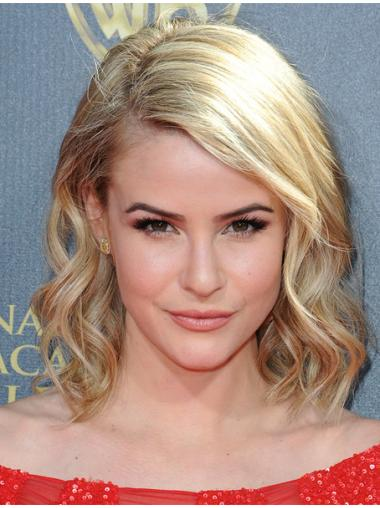 Trendy Bobs Blonde Lace Front Wig