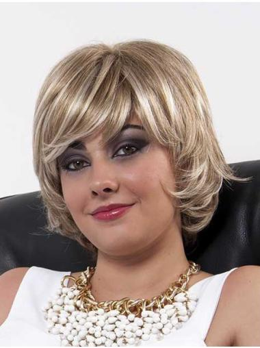Layered Blonde Designed Full Lace Wigs