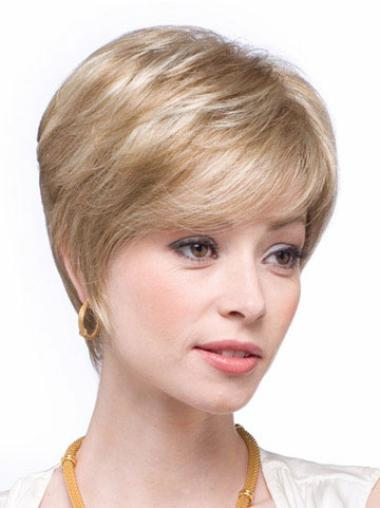 Capless Remy Human Hair Affordable Wigs
