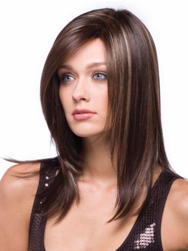 Long Capless Synthetic Beautiful Wigs