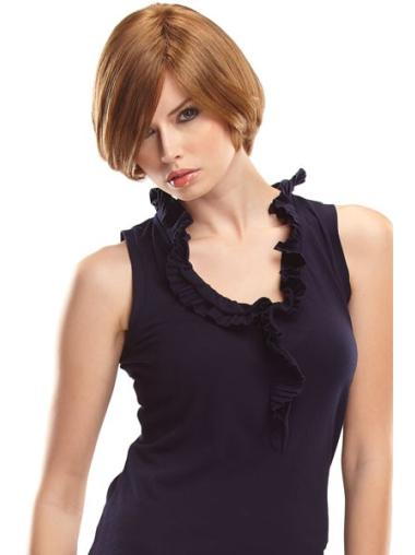 Healthy Short Remy Human Hair Wigs For Cancer