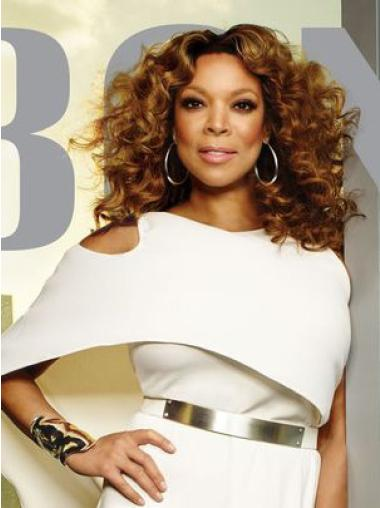 "Popular Lace Front 16"" Curly Wendy Williams Wigs"